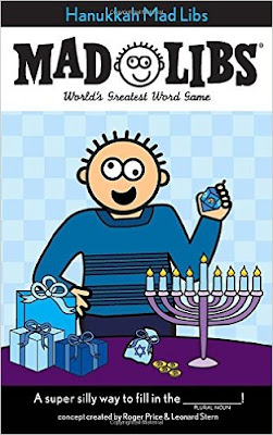 Hanukkah Mad Libs are great for you family party or to give as a small gift to tweens and teens.