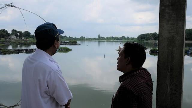Bersama BWS Sumatera VI, Sofyan Ali Tinjau Destinasi Wisata Danau Sipin Jambi