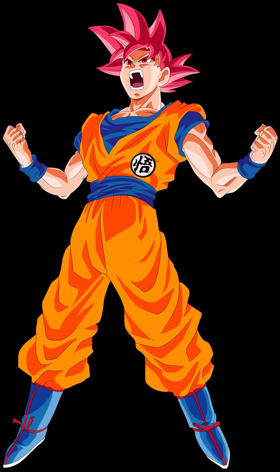 Foto gambar goku super saiyan god terbaru foto kartun - Foto goku super saiyan god ...