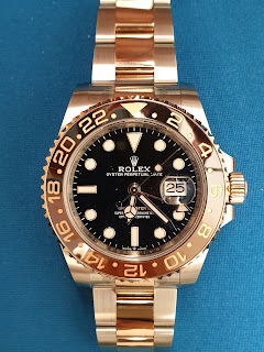 "Pajak Rolex (GMT Master II ""Root Beer"") RM50,000"