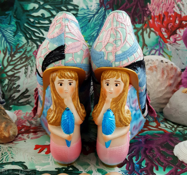 Irregular Choice mermaid heels