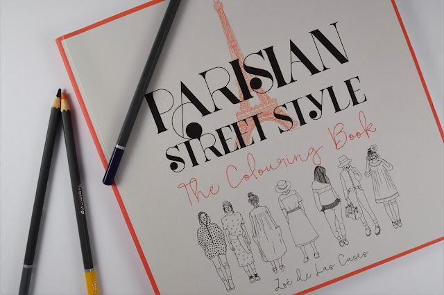 Parisian Street Style Colouring Book