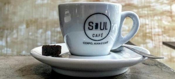 Cafeteria Soul Café localizada na Rua Augusta.