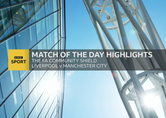 BBC Match of the Day – Community Shield 2019 | 4 Agosto 2019