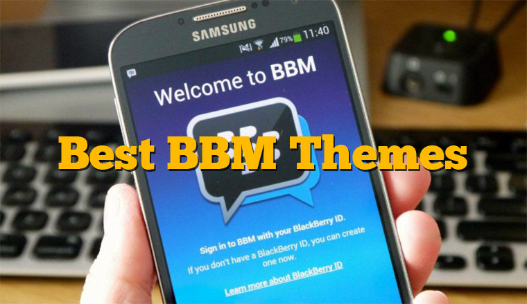 7 Aplikasi Mengganti Tampilan Tema BBM Android