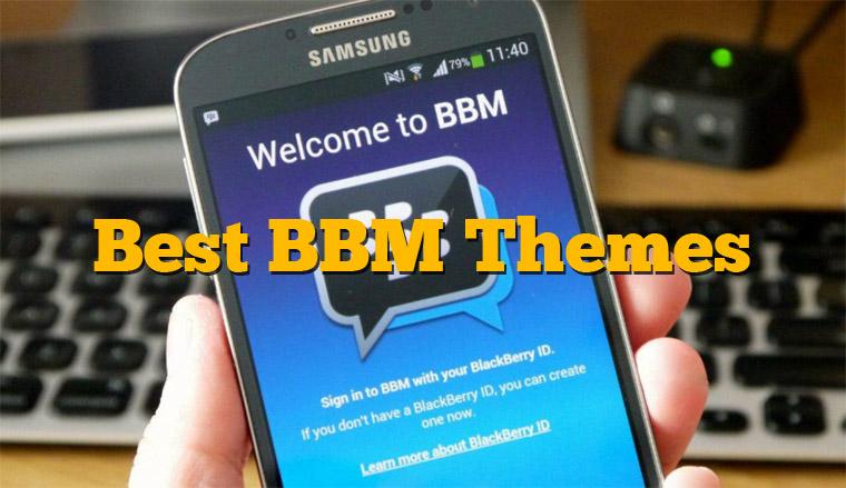 Terbaru, 7 Aplikasi Mengganti Tampilan Tema BBM Android