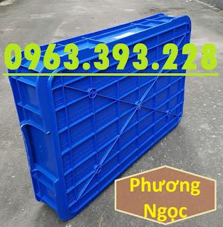 Thùng nhựa đặc HS025, thùng nhựa nguyên sinh có nắp, thùng đựng đồ cơ khí 81d2b20ee8fd0aa353ec