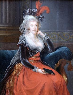 Queen Maria Carolina of Naples by Élisabeth-Louise Vigée-Le Brun