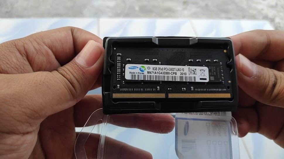 Cara Upgrade RAM Di Laptop Yang Mempunyai Baterai Tanam (DIY)