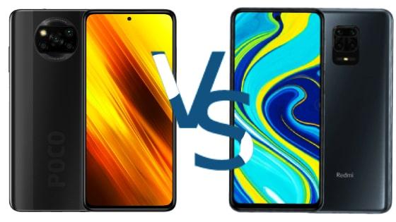 Poco X3 NFC vs Redmi Note 9S