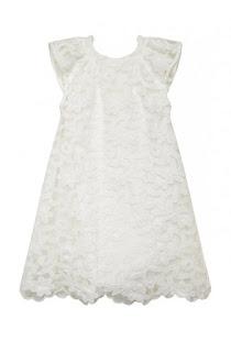 robe blanche enfant NAF NAF