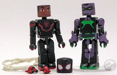 Diamond Select Walgreens Marvel Minimates Miles Morales Spider-Man