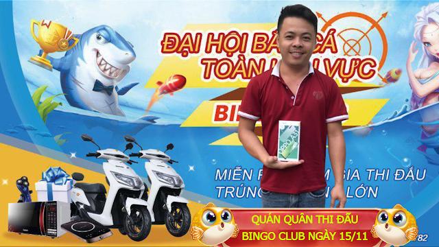 VUA SĂN THƯỞNG - BẮN CÁ BINGO CLUB GIẢI TUẦN NGÀY 15/11/2020