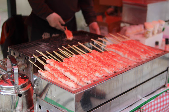 Crab Stick Skewers in Kyoto, Japan