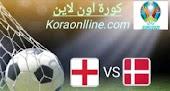 تفاصيل مباراة انجلتراوالدنمارك في نصف نهائي امم اوروبا