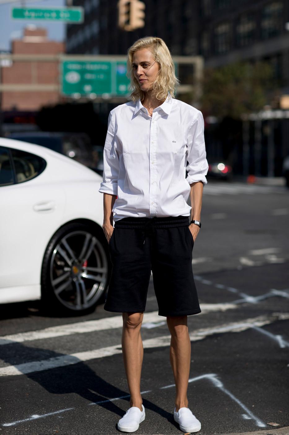Street Style: Aymeline Valade's Boyish Off-Duty Look