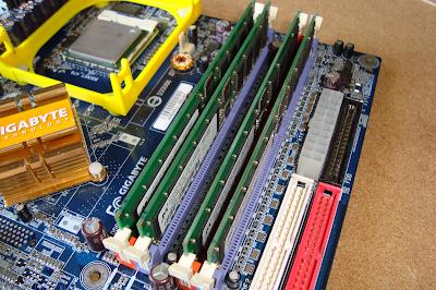 Multi Channel RAM architecture