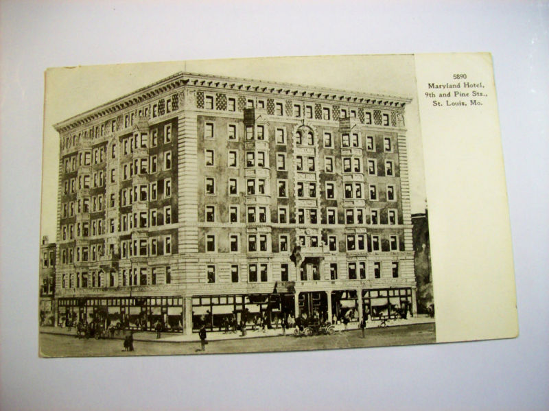 This D Mn House St Louis History The Mark Twain Hotel