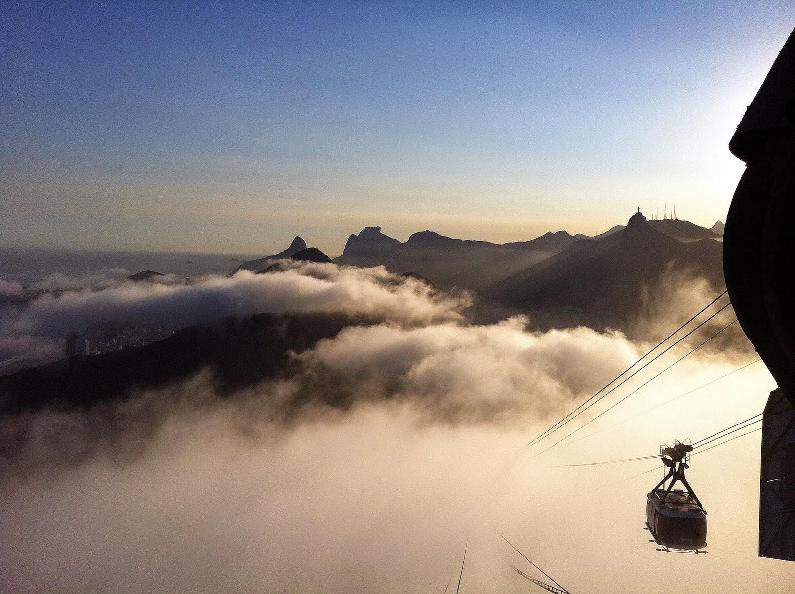 Gondola to Sugarloaf Mountain Rio de Janeiro
