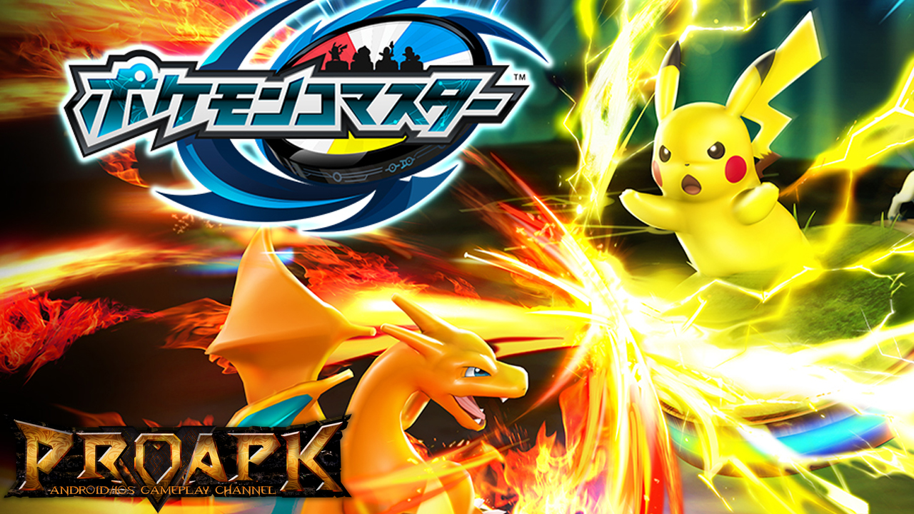 pokÉmon co-master (jp) gameplay ios / android - proapk - android ios