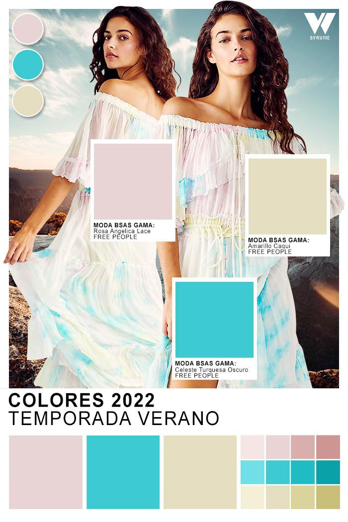 colores de la temporada primavera verano 2022