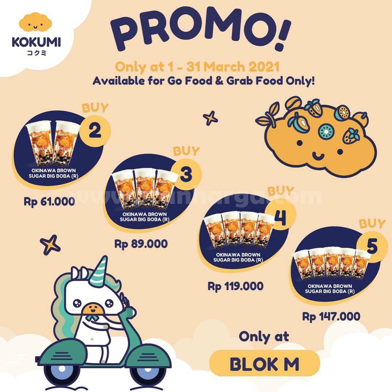 KOKUMI BLOK M Promo PAKET BUNDLING via aplikasi GOFOOD & GRABFOOD