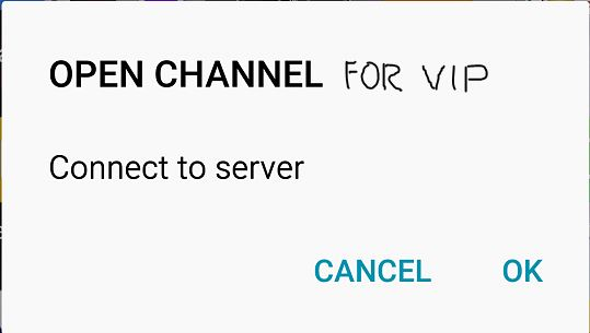 Open Channel For Bip