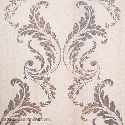 Papel Pintado Pared Ornamental 5991-09 Secrets Erismann