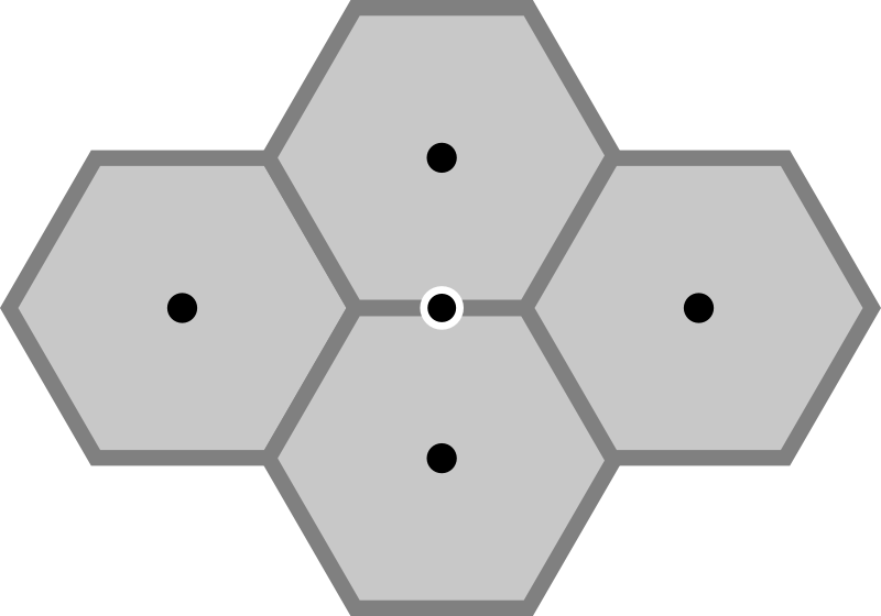 NewImageProcessing: Conversion from the hexagonal grid to the
