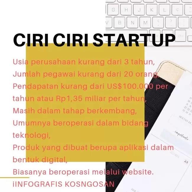 ciri ciri startup