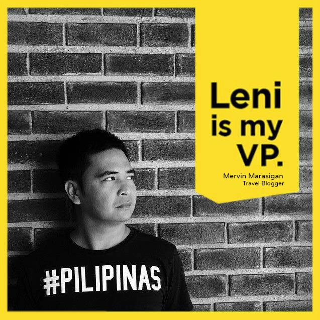 Vote Leni Robredo for Vice President