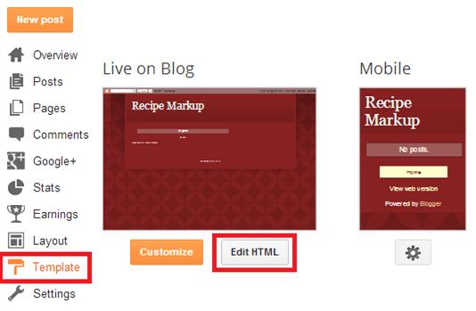 seo blogspot, cấu hình thẻ h