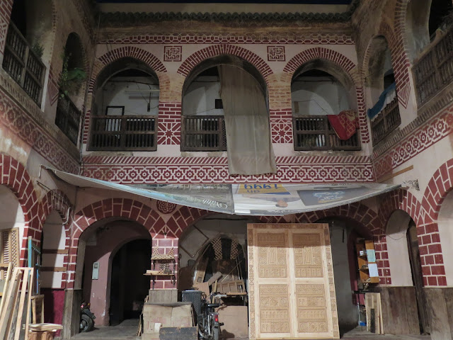 Foundouk o Caravasar en Marraquech