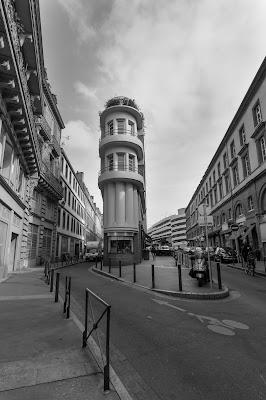 Immeuble chelou à Victor-Hugo