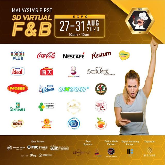 Beecomb Virtual Food & Beverage Expo Pertama Di Malaysia Melalui Aplikasi