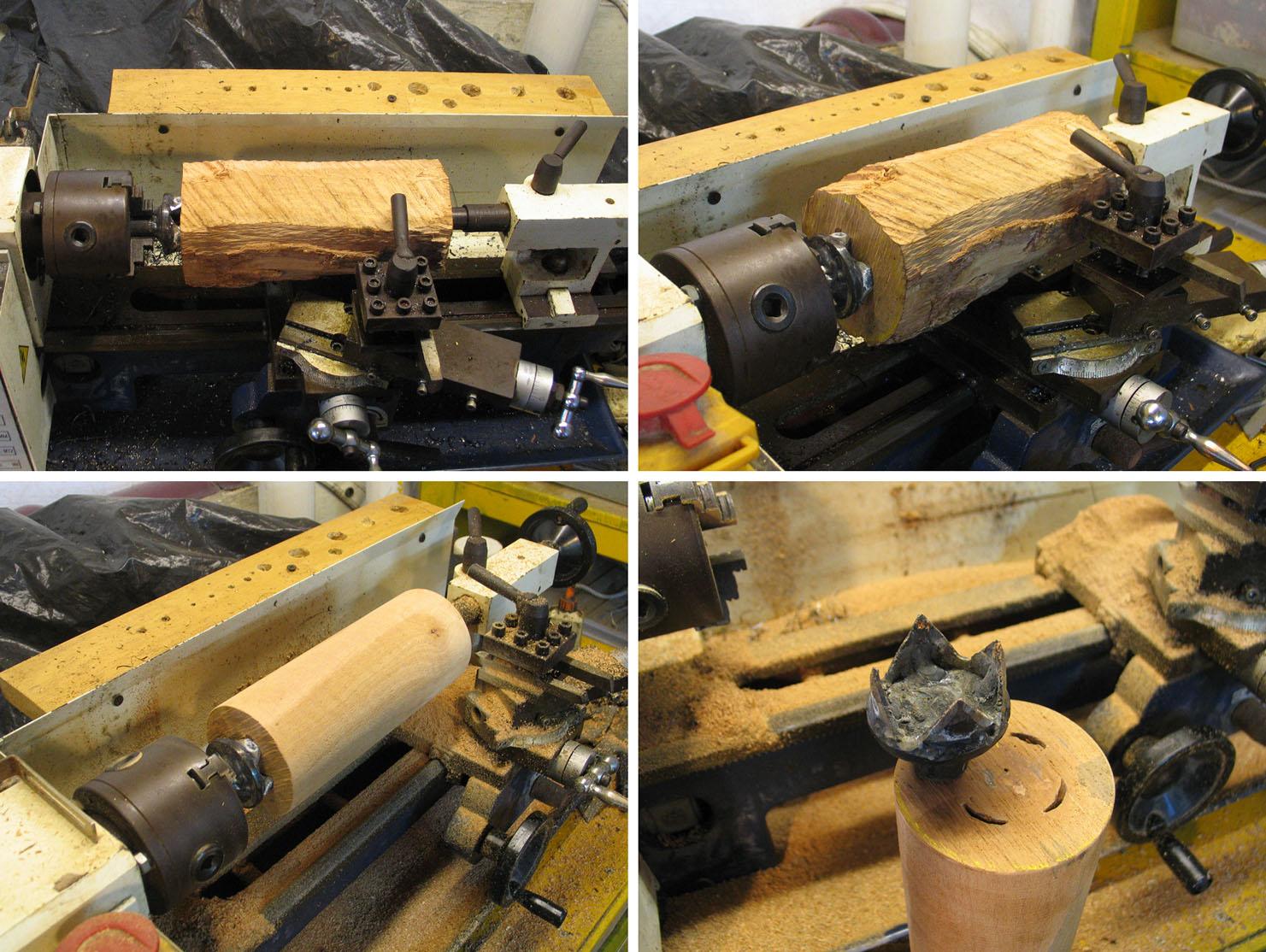 joli design mini lathe wood turning mini tour bois. Black Bedroom Furniture Sets. Home Design Ideas