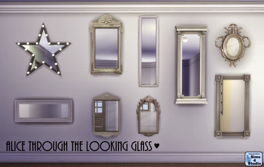 My Sims 4 Blog All Mirrors Move Like Paintings By Om