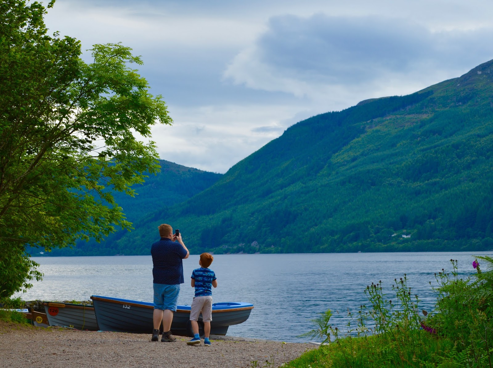 Loch Ness Shores Campsite | A Review - views
