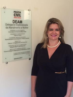 Delegada regional de Curvelo, Margaret de Freitas
