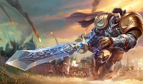 Garen chỉ phát huy được tối đa sức khỏe khi tuyên chiến đối đầu với cùng một số loại tướng nhất định, tiêu biểu như tướng chống chịu của địch thủ