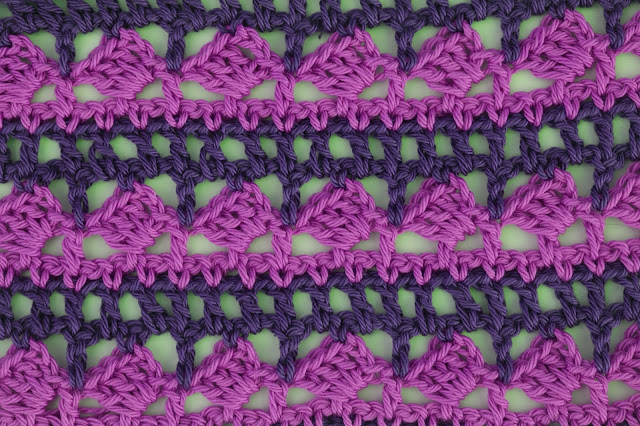 4 - Crochet Imagen Puntada para poncho de verano a crochet y ganchillo por Majovel Crochet