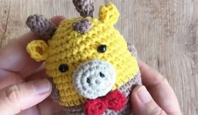 Tutorial Jirafa a Crochet