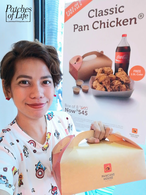 Me and my Box of 8 Classic Pan Chicken