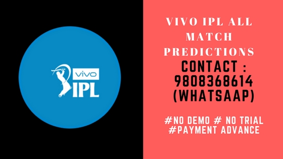 IPL Free Match Prediction 2018 Astrology Bhavishyavani