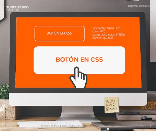 [TUTORIAL] Crear un Botón Fantasma (Ghost Button) en CSS