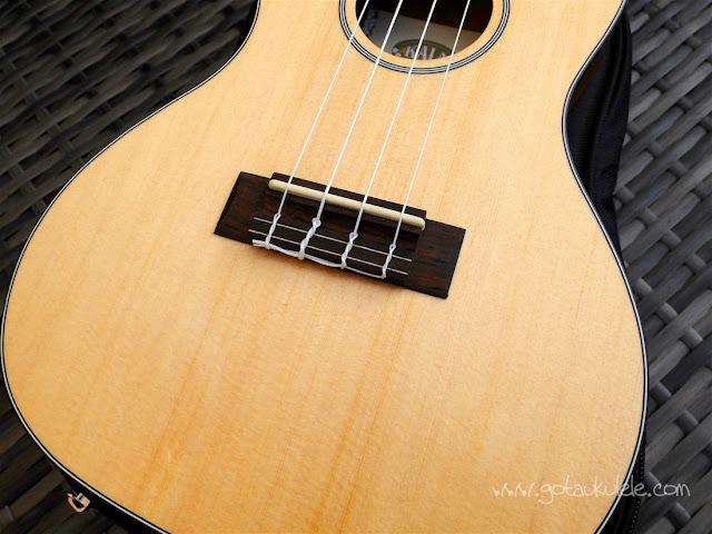 Kala KA-SSTU-C ukulele bridge