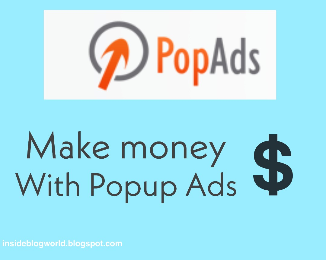 How To Make Money With POPUP Ads