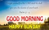 Good Morning Bible Verse Quotes for Sunday