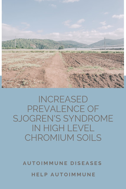 Increased prevalence of Sjogren's syndrome in high level chromium soils