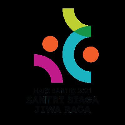 Logo Hari Santri 2021 Kemenag PNG